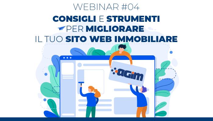 AGIM Webinar #04 – Consigli per migliorare il tuo sito web