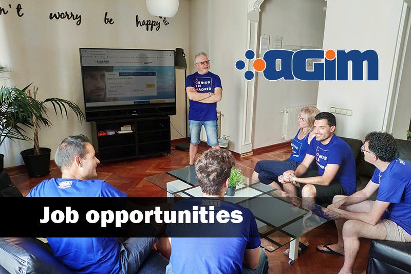 Entra nel Team di sviluppo Agim: Nuove assunzioni