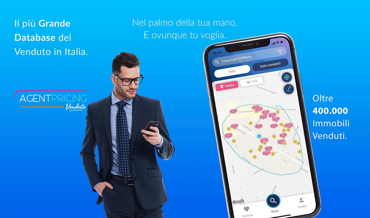 App per conoscere i reali valori di compravendita in Italia