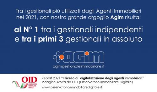 Report OID 2021: Agim sempre al top tra i gestionali immobiliari